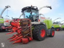 Claas Jaguar 930 Allrad mit Kemper 360 forestry equipment