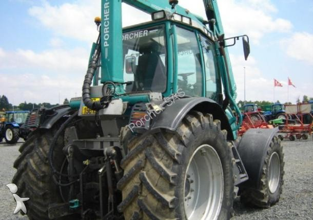 tracteur forestier grue occasion