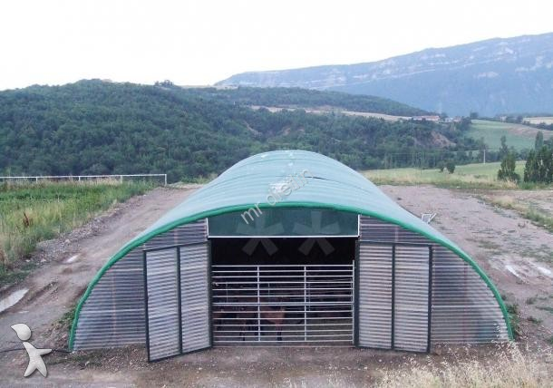 Hangar agricole occasion nc nc tunnel elevage ou stokage - Hangar d occasion a vendre ...