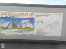 nc 2019 30' x 40' x 15' Peak Ceiling Double Door Storage Shelter c/ neuf