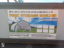 nc 20' x 30' x 12' Peak Ceiling Storage Shelter c/w Commercial neuf