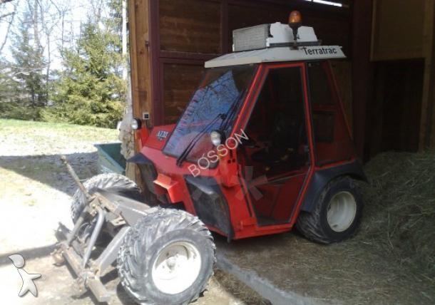 tracteur de pente occasion aebi schmidt nc tt90