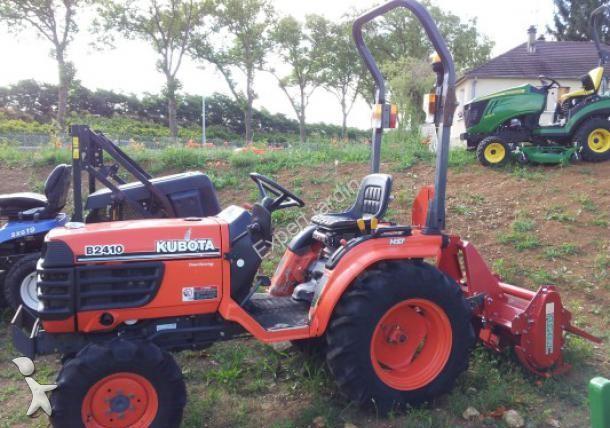 micro tracteur kubota b2410 occasion