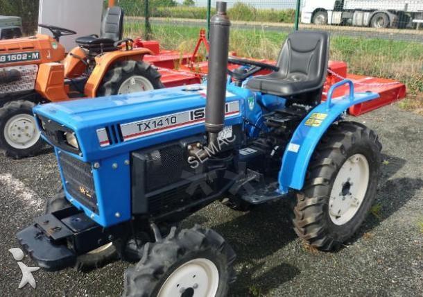 micro tracteur iseki tx 1410 occasion