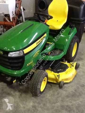 John Deere x540 landscaping equipment