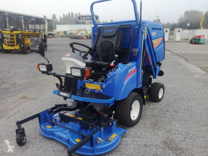View images Iseki SF 224 HD landscaping equipment