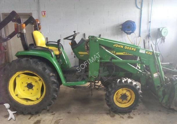 micro tracteur occasion john deere nc 4400