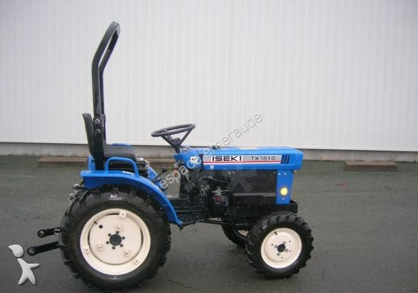 micro tracteur iseki tx1510 occasion n 1606176. Black Bedroom Furniture Sets. Home Design Ideas