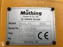Zobaczyć zdjęcia Tereny zielone nc Müthing MUL/S 250