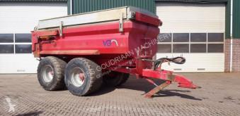 remolque agrícola nc VGM - 18 tons kipper