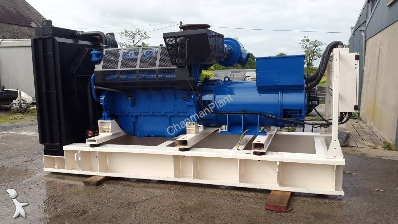 View images FG Wilson 800 KVA construction