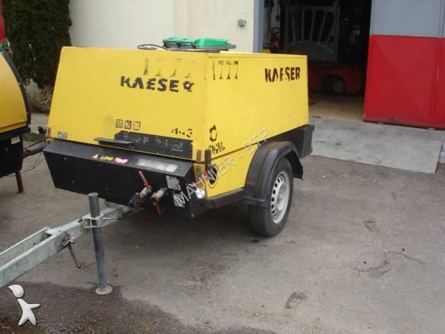 used kaeser compressor construction m43 n 1666321. Black Bedroom Furniture Sets. Home Design Ideas