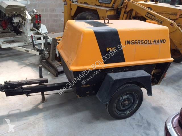 Ingersoll rand P 85 WD construction