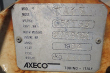 Axeco floor saw construction