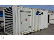material de obra grupo electrógeno SDMO