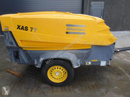 Atlas Copco XAS 77 DD construction