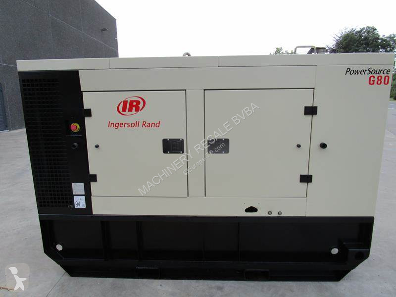 Ingersoll rand G 80 construction