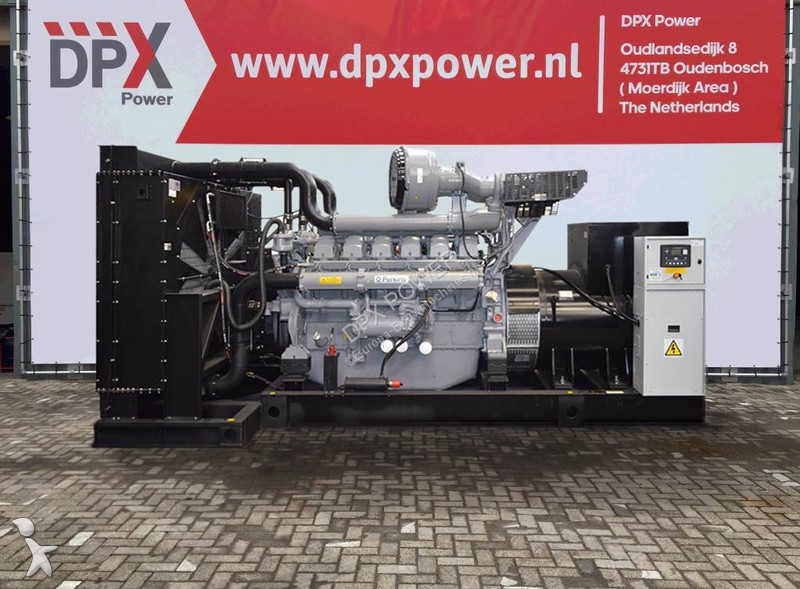 Perkins 4016-61TRG3 - 2.500 kVA Generator - DPX-15725 construction