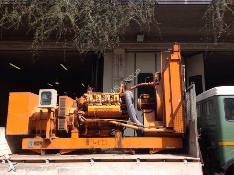 Materiaal voor de bouw Isotta Fraschini 700Kw