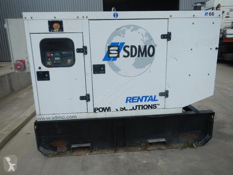 SDMO R66 construction