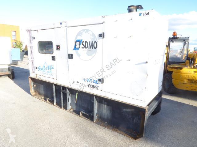 SDMO R165 C2 construction