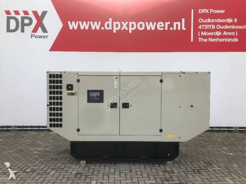 Doosan P086TI - 220 kVA Generator - DPX-15550 construction