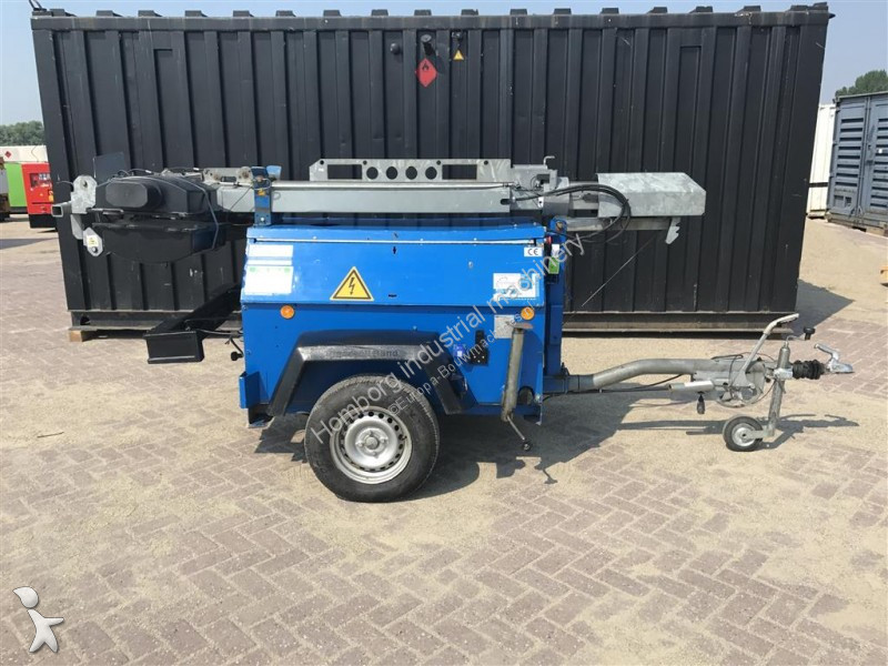 Used Ingersoll rand generator construction light tower 9