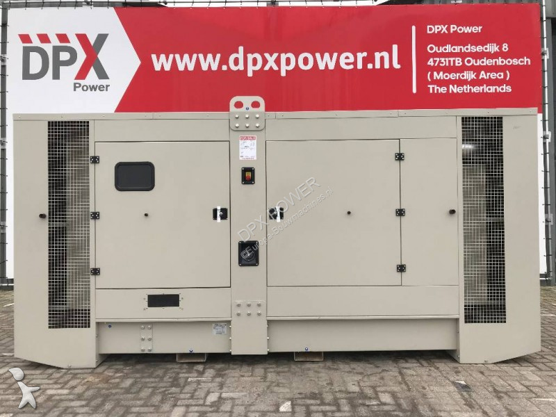 Scania DC16 - 770 kVA Generator - DPX-17956 construction