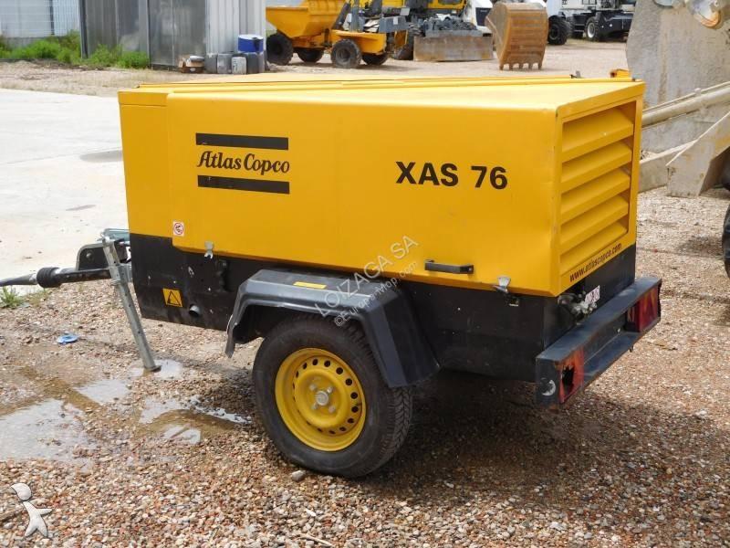 Matériel de chantier Atlas Copco XAS-67