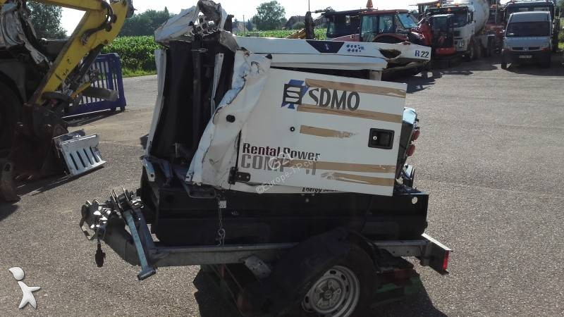 SDMO SDMO R22C3 *ACCIDENTE*DAMAGED*UNFALL* construction