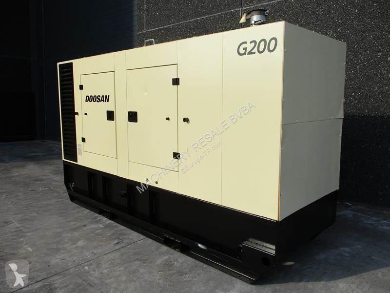 Material de obra Doosan G 200