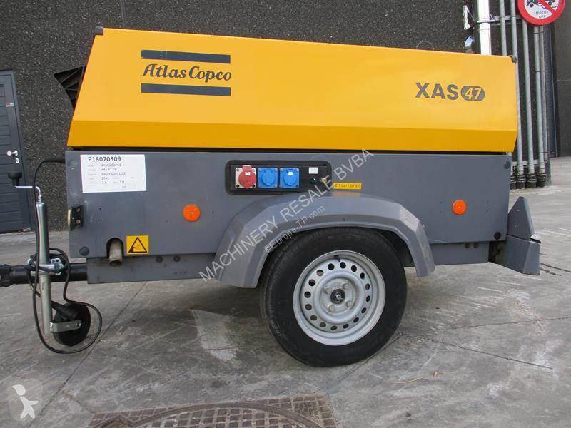 Materiaal voor de bouw Atlas Copco XAS 47 DD - G