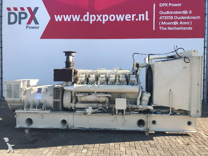 Matériel de chantier MWM TD602V12 - 625 kVA Generator - DPX-11610