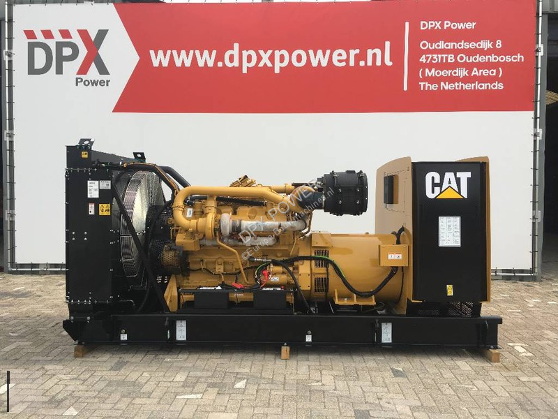 Utilaj de şantier Caterpillar 3412 - 900F - 900 kVA Generator - DPX-18033-O