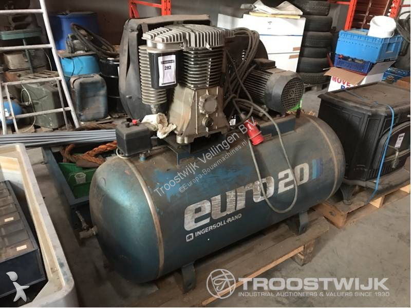 Used Auctions Ingersoll Rand Compressor Construction Euro 20 N3047969