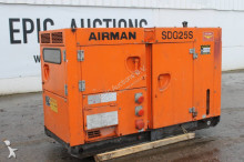 Airman SDG25S Generator construction