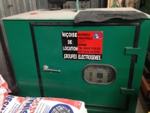 matériel de chantier groupe électrogène Lister