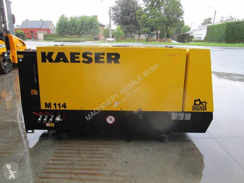 Voir les photos Matériel de chantier Kaeser M 114 - N