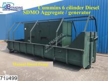 material de obra SDMO MS200S IVA Aggregate / generator, 400 V 289 A, 200 KVA, 160 KW