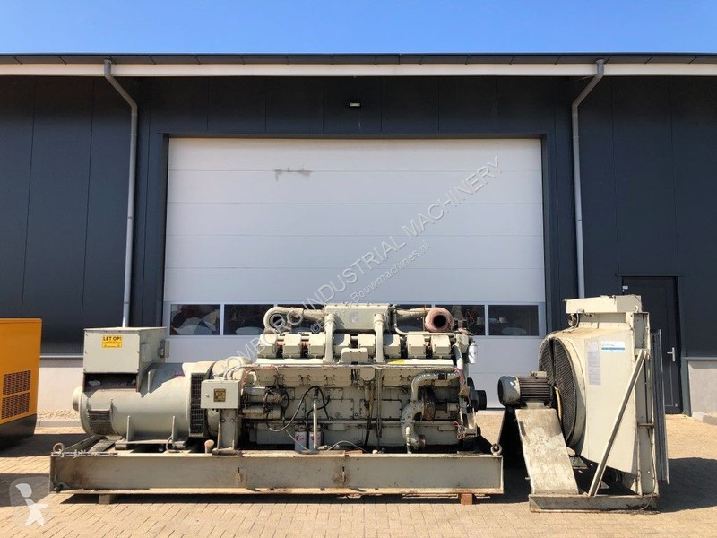 Vedeţi fotografiile Utilaj de şantier Cummins KTA 50 G Stamford 1025 kVA KTA 50 G Stamford 1025 kVA generatorset ex emergency !