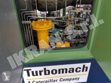 Turbomach generator construction