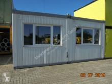 material de obra nc Doppel-Büro Container D2 weiß