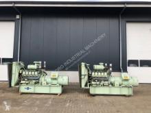 matériel de chantier MAN D2530 MTE Piller 250 kVA ex emergency generatorset