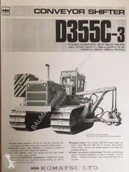 Komatsu D 355 C-3 CONVEYOR SHIFTER