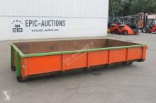 materiaal voor de bouw onbekend Container 6m3 Kabelsysteem