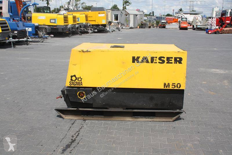 Ver as fotos Material de obra Kaeser M 50