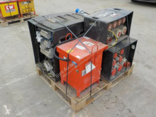 n/a Pallet of Distribusion Boxes (4 of), 110Volt Transformer (2 of) construction