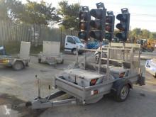 onbekend Pike Single Axle 4 Way Traffic Light Trailer c/w Ramp