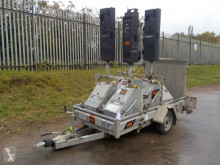 nc Pike 5 Way Traffic Light System c/w Single Axle Trailer