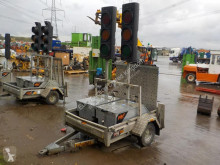 nc Pike 2 Way Traffic Light System c/w Single Axle Trailer
